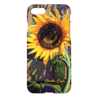 "iPhone 7 Case ""Sunflower"" by Camille Engel"