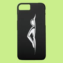 iPhone 7 case Swim Logo Black