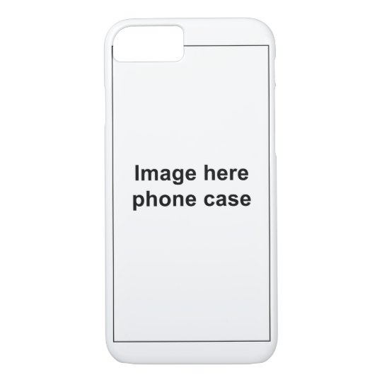 Iphone 7 Case Template Zazzle Com