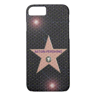iPhone 7 case Template Hollywood Star change text