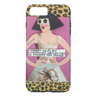 iPhone 7 CASE-THERAPY HELPS BUT SCREAMING iPhone 7 Plus Case