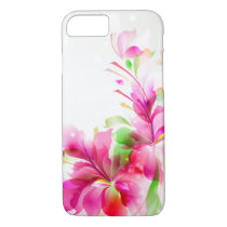 iPhone 7 Case-Tropical Floral iPhone 8/7 Case