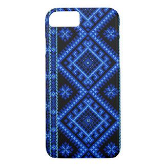 iPhone 7 case Ukrainian Cross Stitch