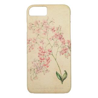 iPhone 7 case - vintage orchid illustration