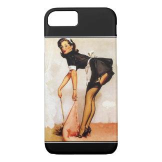 iPhone 7 Case Vintage PinUp Girl