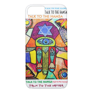 iPhone 7 case Vintage Tapastry Hamsa cell