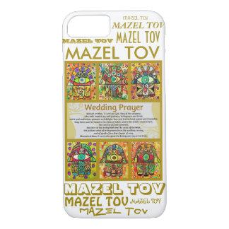 iPhone 7 case Wedding Prayer Mazel Tov Hamsa cell