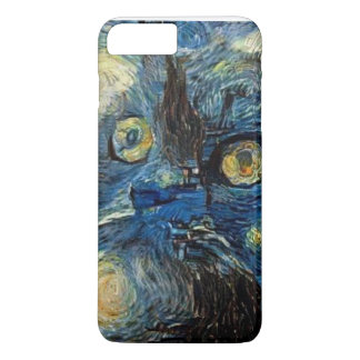 iPhone 7 case with a cat image
