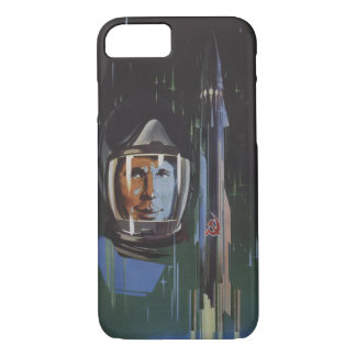 iPhone 7 case with Cool USSR Propaganda