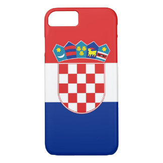 iPhone 7 case with Flag of Croatia