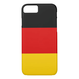 iPhone 7 case with Flag of Germany