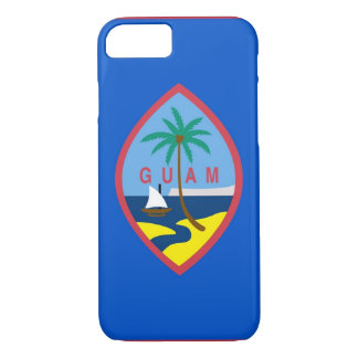 iPhone 7 case with Flag of Guam