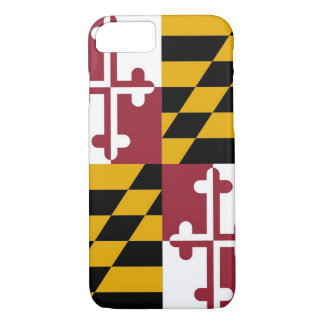iPhone 7 case with Flag of Maryland
