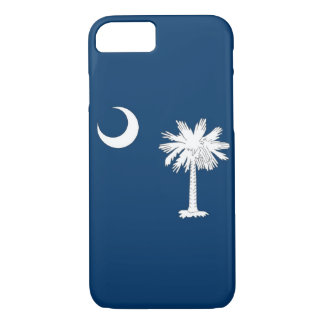 iPhone 7 case with Flag of South Carolina