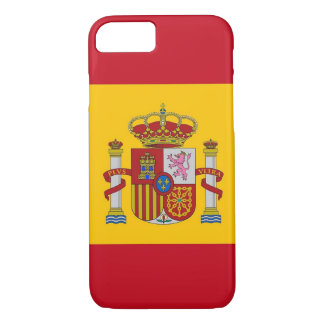 iPhone 7 case with Flag of Spain