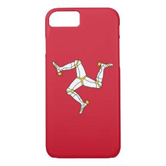 iPhone 7 case with Isle of Man Flag, UK