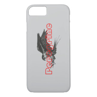 iPhone 7 case with Peregrine Hawk