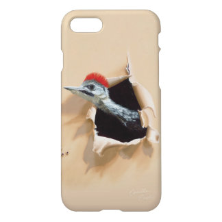 "iPhone 7 Case ""Woodpecker"" by Camille Engel"