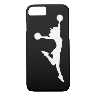 iPhone 7 Cheer 1 Silhouette White/Black iPhone 8/7 Case