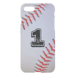 iPhone 7 clear baseball case