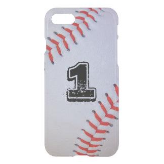 iPhone 7 clear baseball case