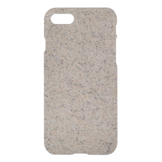 iPhone 7 Clearly Deflector Case Abstract Tan Marb