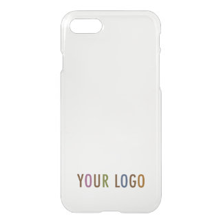 iPhone 7 Clearly Deflector Case Company Logo Brand