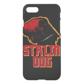 iPhone 7 Clearly™ Deflector Case stalin dog