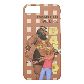 iPhone 7 Cover - I Want To Be Like David - Female