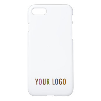 iPhone 7 Custom Case Company Logo Branded Bulk