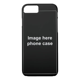 iPhone 7 dark case template