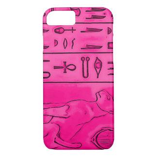 iPhone 7 Egyptian Pink Topaz Pharoah Art iPhone 7 Case