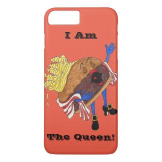 "iPhone 7"" hamburguesa Bernice, reina!"" Caso Funda iPhone 7 Plus"