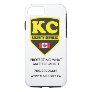 iPhone 7-KC Security Services phone case! iPhone 8/7 Case