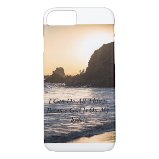 iPhone 7, Ocean View I Can Do All Things iPhone 7 Case