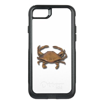 nautical_gifts iPhone 7 OtterBox Nautical Copper Crab on White