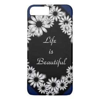 "iPhone 7 P ""Life is Beautiful""Design phone case"