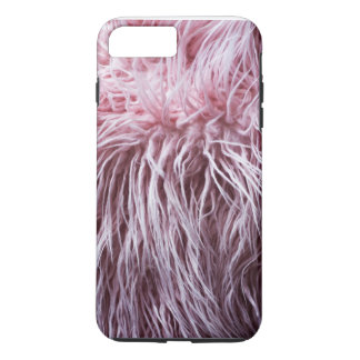 iPhone 7 PINK BOA FEATHER (FAUX) FASHION CASE