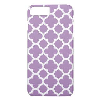 iPhone 7 Plus Case - African Violet Quatrefoil