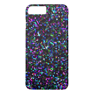 iPhone 7 Plus Case Mosaic Sparkley Texture