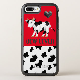 iPhone 7 plus cow lover case