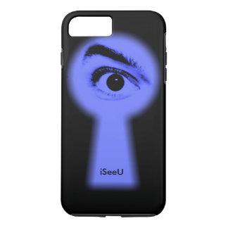iPhone 7 plus spying eye case