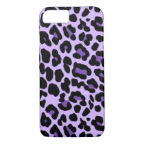 iPhone 7 Purple Cheetah Print Case
