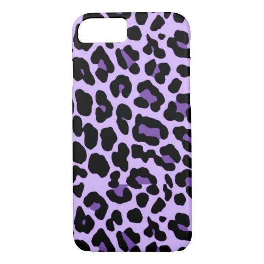 iPhone 7 Purple Cheetah Print Case  b0dd4bd21e6d