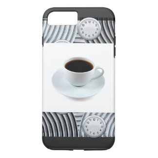 iPhone 7 RUNNING LATE COFFEE DESIGN iPhone 8 Plus/7 Plus Case