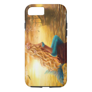 iPhone 7, Tough Beautiful princess Sea Mermaid iPhone 7 Case
