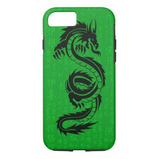 iPhone 7 Tough™ del dragón verde Funda iPhone 7