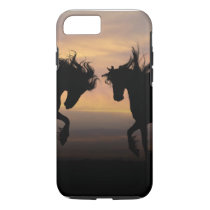 iPhone 7, Tough - Twin Horses iPhone 7 Case