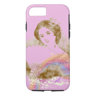 iPhone 7 ToughCase de señora Pink de la fan del Funda iPhone 7