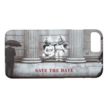 iPhone 8/7 Case Street Art: Cupids Save the Date